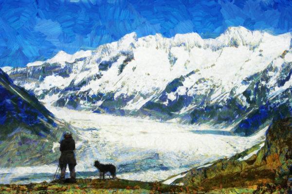 Фото на холсте Художественный дизайн пример4 - Ван Гог - skazkavrame.ru - Сказка в раме