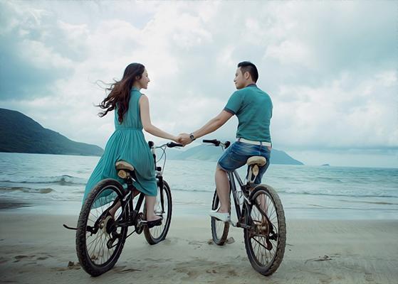 Портрет на велосипедах в стиле Масляная живопись по фото