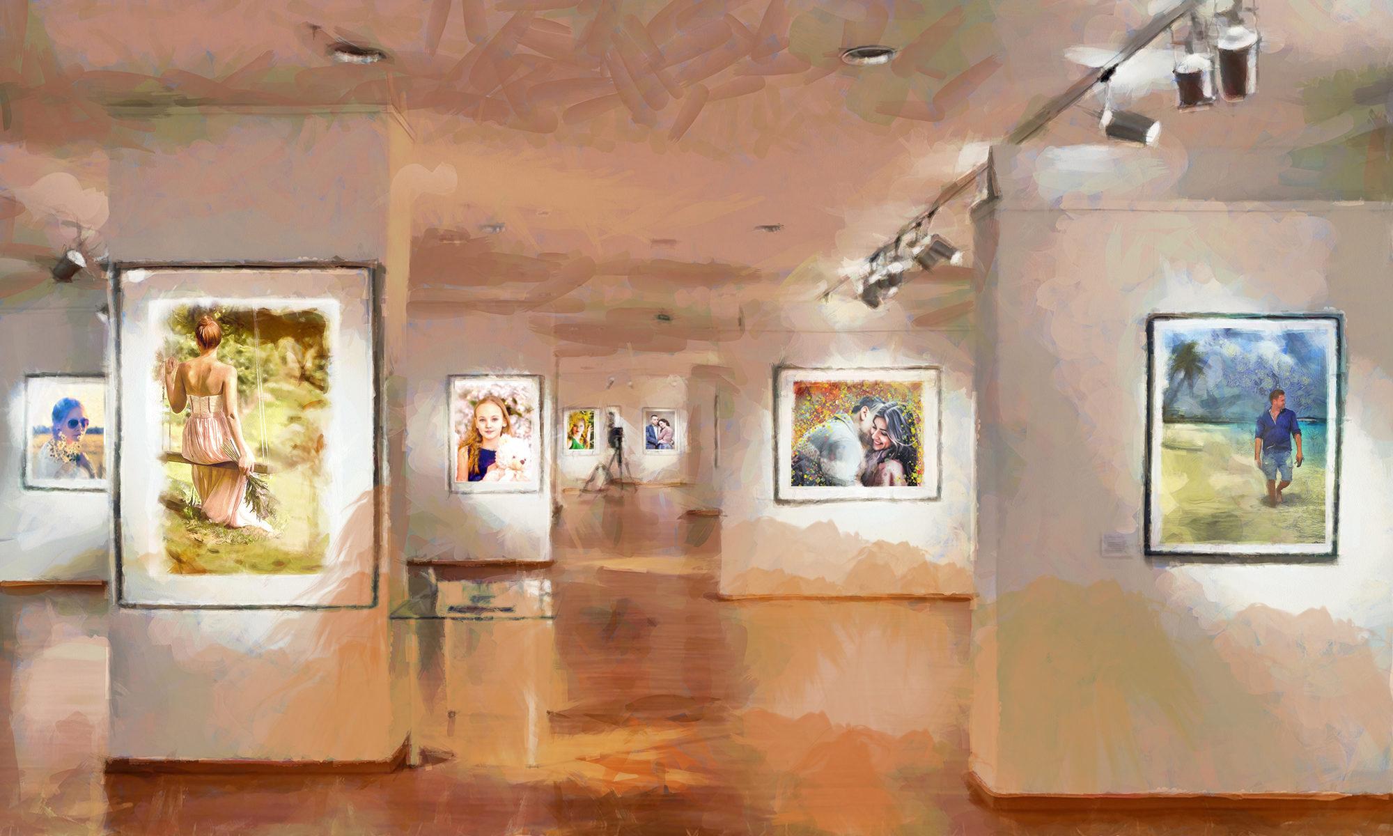 Печать фото на холсте │ Печать портретов на холсте │ Печать фотомозаик, коллажей, модульных картин и репродукций на холсте