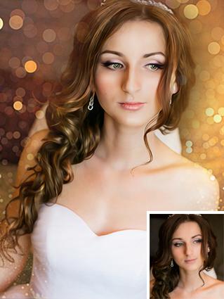 Портрет невесты в стиле Дрим арт - skazkavrame.ru